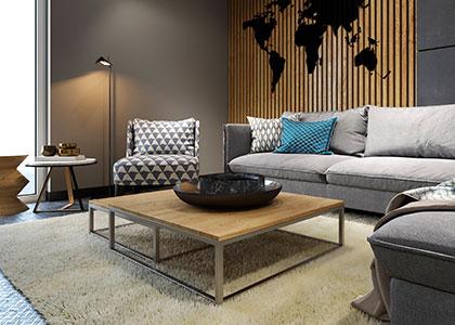 Tischgestelle, Bänke & Wandkonsolen