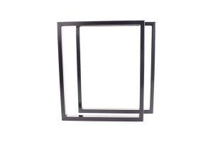 TRGsg 50x30 Stahl schwarz glanz (Profil 5x3cm)
