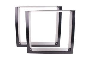 TUGsg 150x50 Stahl schwarz glanz (Profil 15x5cm)