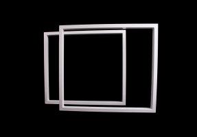 TRGwg 50x30 Stahl weiß glanz (Profil 5x3cm)