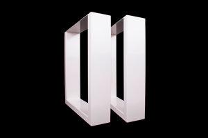 TUGwg 150x50 Stahl weiß glanz (Profil 15x5cm)