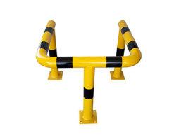 Doppelbügel Säulenschutz 3-seitig