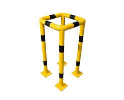 Säulenschutz Schutzbügel 4-seitig