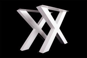 TUXwg 100x100 Stahl weiß glanz (Profil 10x10cm)