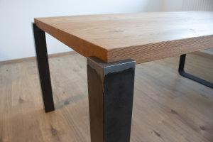 Tischbeine aus Stahl / Metall / Rohstahl