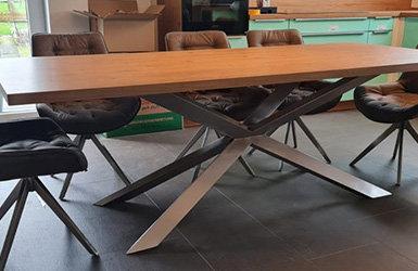 Elegant & modern - das Spider-Tischgestell - Elegant & modern - das Spider-Tischgestell