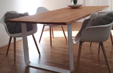 Zeitlos & modern - unsere TGF-Tischgestelle in weiß - Zeitlos & modern - unsere TGF-Tischgestelle in weiss