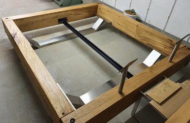 Eine KTC Bettgeschichte - vom rohen Baumstamm zum Doppelbett - Eine KTC Bettgeschichte - vom rohen Baumstamm zum Doppelbett