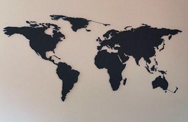 Einmal um die Welt mit unserer Weltkarte - Einmal um die Welt mit unserer Weltkarte