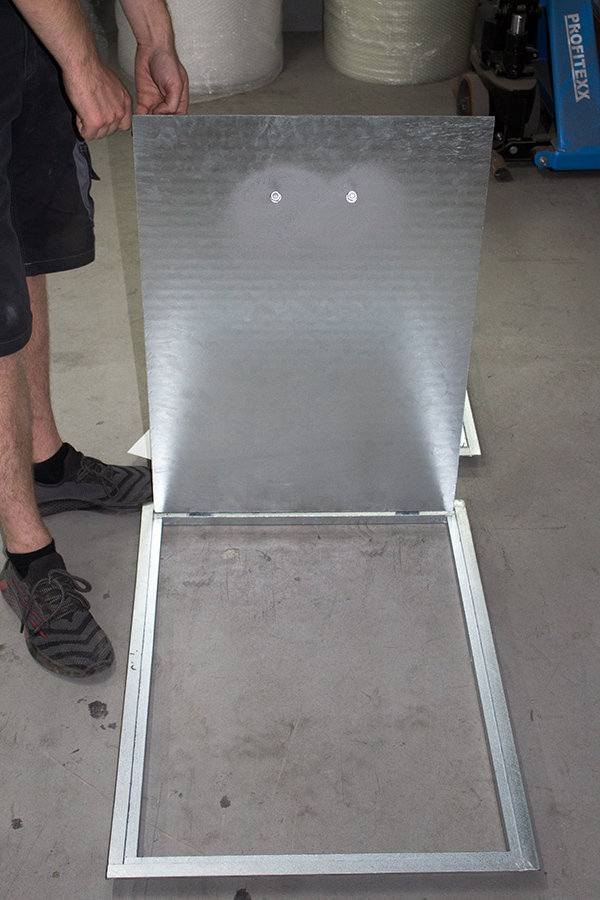 Schachtabdeckung Stahl feuerverzinkt begehbar
