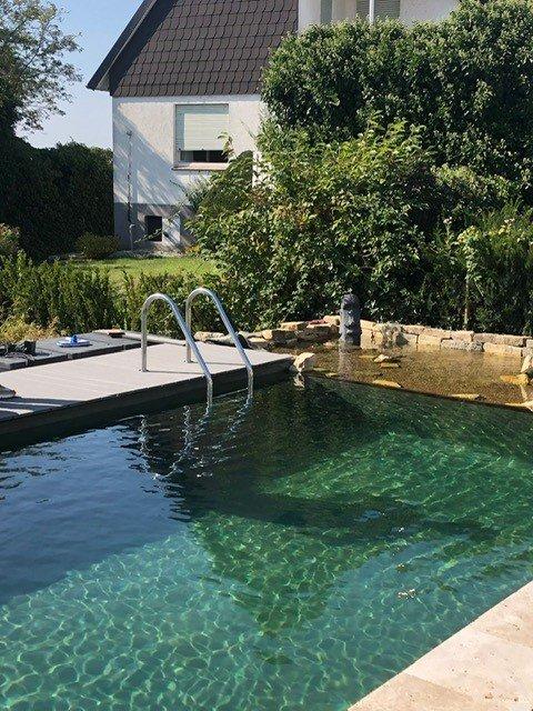 Garten Pool Leiter Treppe Edelstahl