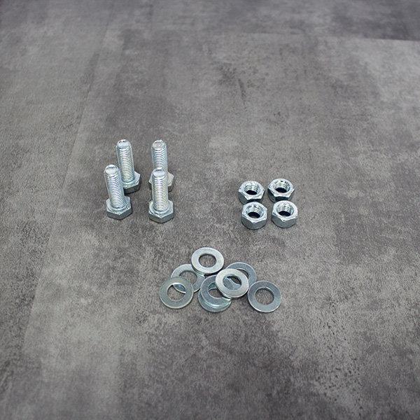 Werkbankgestell Schrauben und Muttern
