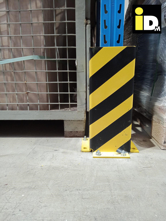 U-Form Regal Anfahrschutz