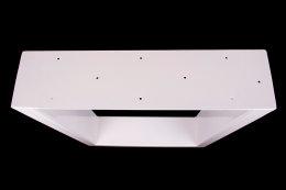 Tischgestell weiß TUGw-700 breit Tischuntergestell Tischkufe Kufengestell (1 Paar)