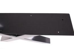Tischgestell schwarz TUXs-490 breit Tischuntergestell Tischkufe Kufengestell (1 Paar)