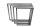 Tischgestell Edelstahl TRG 50x30 800 Untergestell Kufen Tischuntergestell, 2 Stk