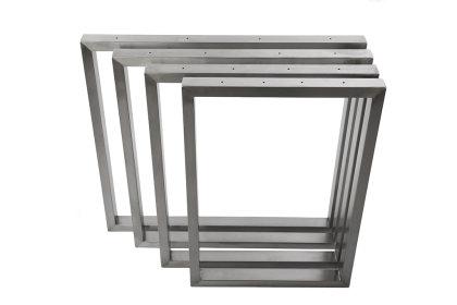 Tischgestell Edelstahl TRG 50x30 900 Untergestell Kufen Tischuntergestell, 2 Stk