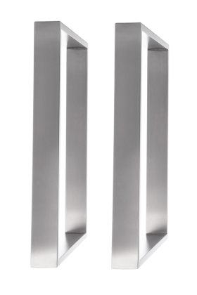 tischgestell edelstahl 600 breit tr80 600 tischuntergestell tischkufe. Black Bedroom Furniture Sets. Home Design Ideas