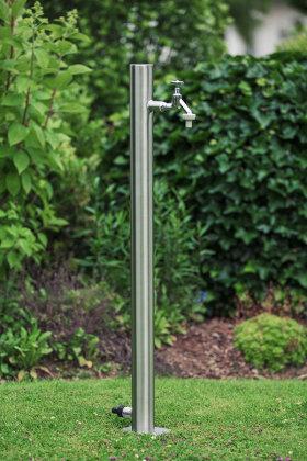 Wassersäule SRG 950 mm Edelstahl V2A Bewässerung Zapfstelle Zapfsäule Gartenschlauch Spender