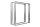 Tischgestell Edelstahl TR 80x20 700 Untergestell Kufen Tischuntergestell Tischkufe Design Tisch Esstisch, 2 Stk