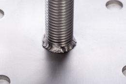 PT280 Pfostenträger höhenverstellbar aus Edelstahl 25-280mm