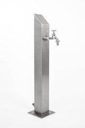 Wassersäule SQS 1030 mm Edelstahl V2A Bewässerung Zapfstelle Zapfsäule Gartenschlauch Spender