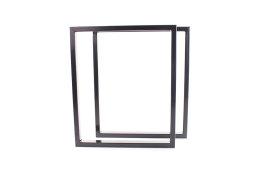 Tischgestell schwarz glanz TRGsg 50x30 Tischuntergestell...