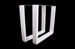 Tischgestell weiß TU100w Tischuntergestell Tischkufe Kufengestell