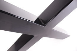 Tischgestell schwarz TUXs Tischuntergestell Tischkufe Kufengestell