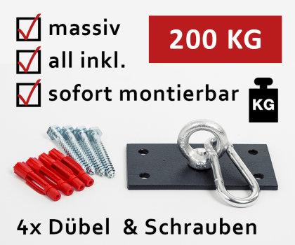 Profi Boxsack Halterung Deckenhalterung Boxsackhalterung Boxsackhalter Halter B1