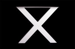 Tischgestell weiß TUXw-790 breit Tischuntergestell...