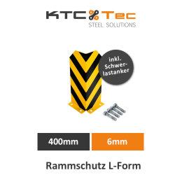 Rammschutz L-Form 400mm 6mm Regalschutz Anfahrschutz...