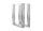 Tischgestell Edelstahl TU 100x40 800 Untergestell Kufen Tischuntergestell Tischkufe Design Tisch Esstisch, 2 Stk