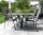 Kreuzgestell Edelstahl V2A MI-KADO 80x80 L1400 Tischgestell Küchentisch Esstisch Tischuntergestell X-Gestell