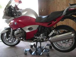 Motorrad Rangierhilfe Rangierplatte RH-S 400 Rollwagen 400KG Rollhilfe Rollplatte
