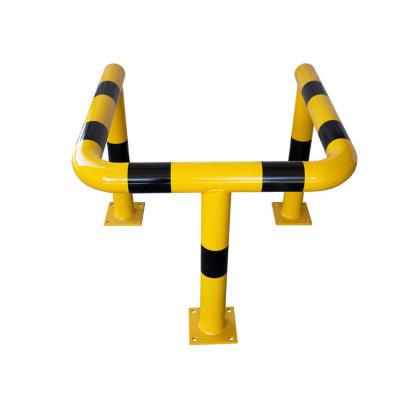 Rammschutz Doppelbügel Säulenschutz Ø 76,1 / H 700 / L 600 / B 500 mm