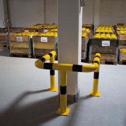 Rammschutz Doppelbügel Säulenschutz Ø 108 / H 700 / L 600 / B 500 mm