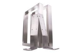 Rückenlehnenwinkel Edelstahl Rückenlehnenhalter Sitzbank Rückenlehne Bank Bankkufen Bett Rückenlehnenhalterung (1 Stück)