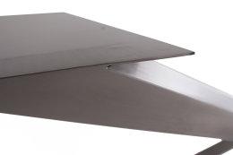 Kreuzgestell Edelstahl V2A GX 80x40 L1600 Esstisch Tischgestell Wohnzimmer Tisch Spider Küchentisch Tischuntergestell X-Gestell