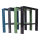 Profi Werkbankgestell Stahl WBG-650/700-1000 Arbeitstisch höhenverstellbar Packtisch Werkbank Werkstatt Werkbankfuß Untergestell Werktisch Metall Stahlfuß (1 Stück)