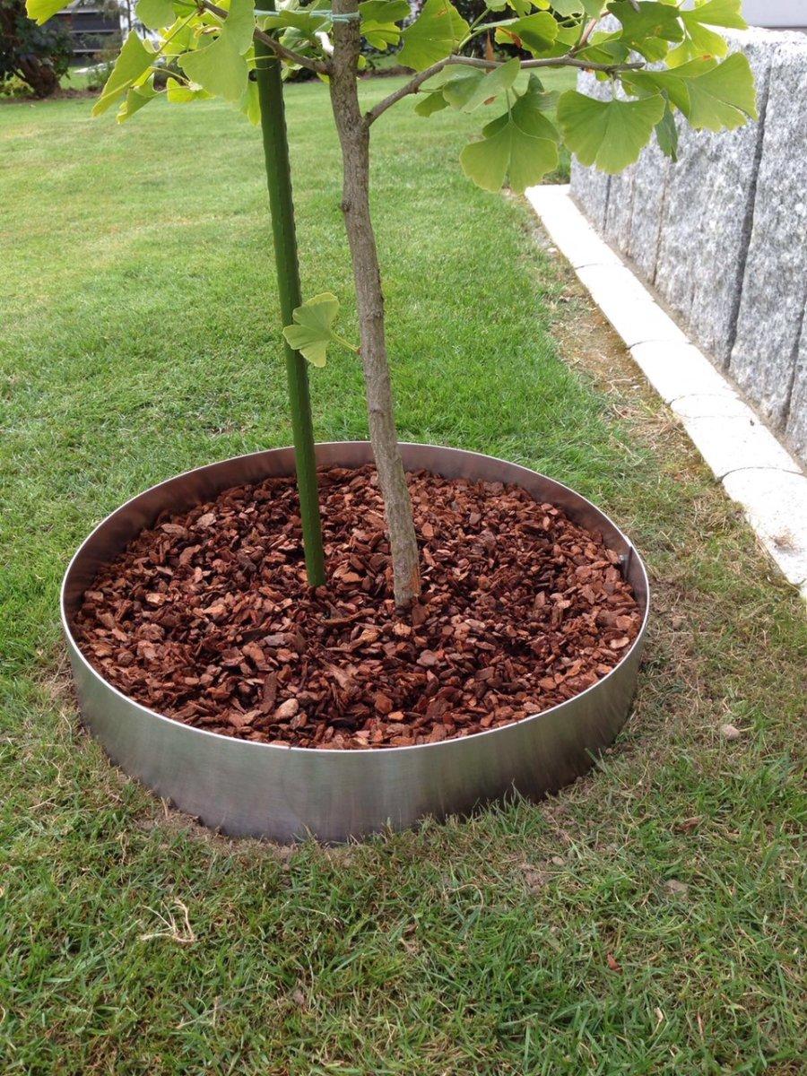 beetumrandung pr600 pflanzenring beeteinfassung rasenkanten edelstahl 43 99