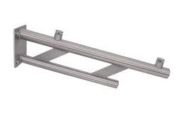 Vordachhalter Edelstahl VR1000 (1 Paar) Rundrohr Vordachsystem Vordach Vordachträger Edelstahlvordach Glasvordach Türvordach Haustür Halter