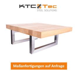 Waschbecken Konsole Edelstahl Träger TRG50x30-300/400 Waschtisch Wandkonsole Regalhalter Konsolenhalterung Gestell (1 Paar)