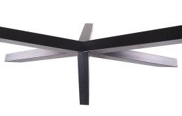 Kreuzgestell schwarz matt Struktur GX80x80 Länge 1700mm Höhe 720mm