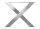 Tischgestell Edelstahl TUX 100x100 990 Kufen Tischuntergestell 1000, 2 Stk