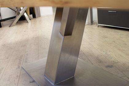 Kreuzgestell Edelstahl Y Gestell Tischgestell Küchentisch Esstisch Tischuntergestell X Gestell einteilig Wohnzimmer