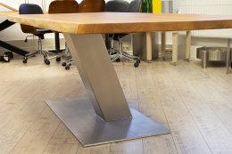 Kreuzgestell Edelstahl V2A Y-Gestell-200x200 L1200 Tischgestell Küchentisch Esstisch Tischuntergestell X-Gestell