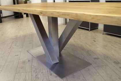 Kreuzgestell Edelstahl V2A Venedig 100x100 L1200 Tischgestell Küchentisch Esstisch Tischuntergestell X-Gestell
