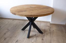 Kreuzgestell Stahl schwarz matt Sterngestell 80x40 L1000 Tischgestell Küchentisch Esstisch Tischuntergestell X-Gestell