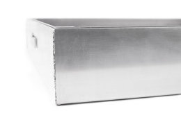 Schachtabdeckung Aluminium SAP-70/8A Schachtdeckel auspflasterbar 700x700 befliesbar bepflanzbar befüllbar wasserdicht Höhe 80mm